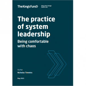Practice of system leadership -
